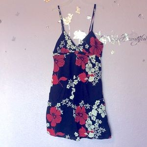 RELISTING TODAY ❌ Roxy Floral Print Tank Dress